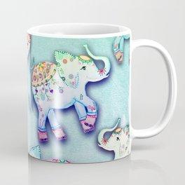 ELEPHANT PARTY MINT Coffee Mug