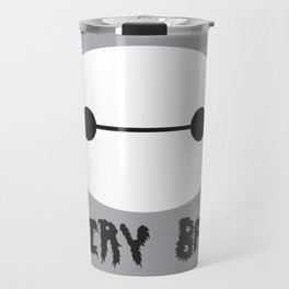 Big Hero 6, Hairy Baby, Baymax Robot Travel Mug