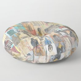 The People Want To Know Floor Pillow