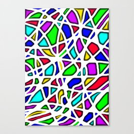 color face Canvas Print