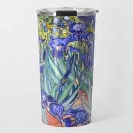 Vincent Van Gogh Irises Travel Mug