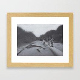 System Wipe Framed Art Print