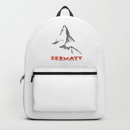 Zermatt, Valais, Switzerland  Backpack