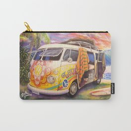 Hippie Surfer Life Carry-All Pouch