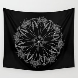 Flower Lace Wall Tapestry