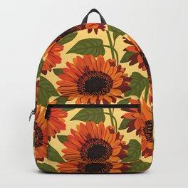 Venidium Orange Monarch of The Veldt Flower Backpack