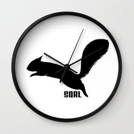SQRL ™  // squirrel Wall Clock