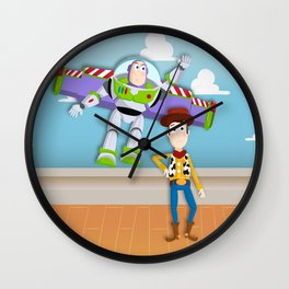 Buzz and Woody Wall Clock