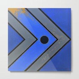Fish - Blue Metal Print