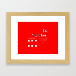 The Impartial II Framed Art Print