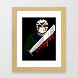 Jason Lives Framed Art Print
