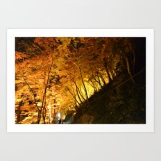 All Are In Awe Art Print