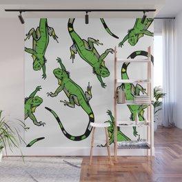 Rainforest Collection - Iguanas Wall Mural