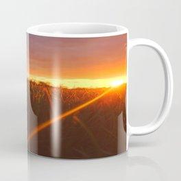 Sunset atop of the Hill Coffee Mug