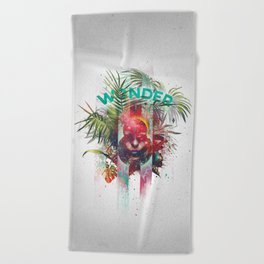 Wonder 8th Beach Towel