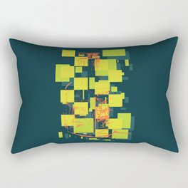 Color Orange Juice Illustration Rectangular Pillow