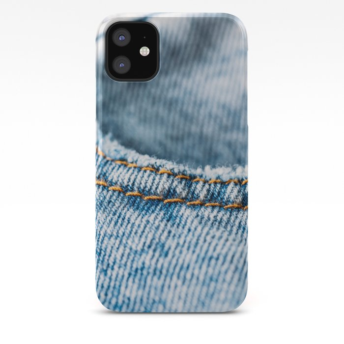 Jeans Pocket With Denim Texture Jeans Texture Denim Texture Textured Background Cover Pattern Iphone Case By Radub85
