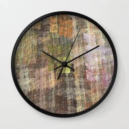Abstract Fabric Designs 4 Duvet Covers & Pillows & MORE Wall Clock
