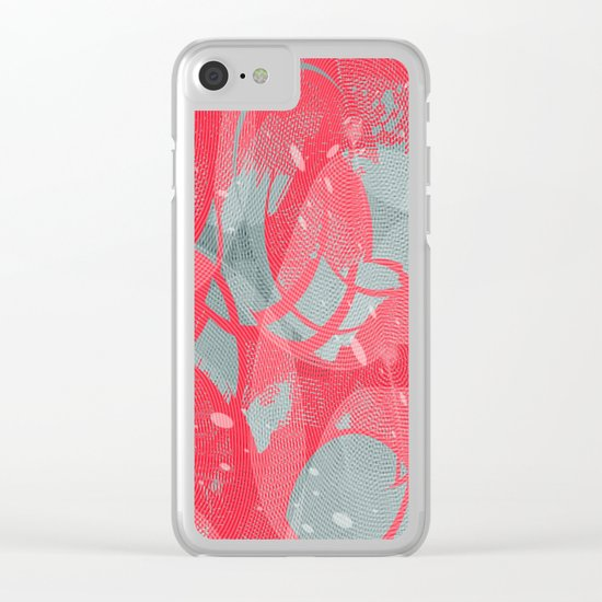 Abstract 102 Clear iPhone Case