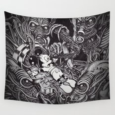 Alien Abduction - The Mouse Wall Tapestry