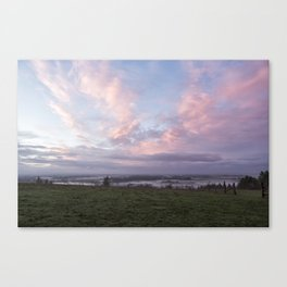Morning's Blush Canvas Print