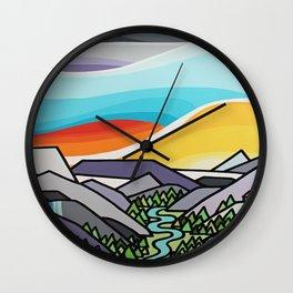 Asulkun Valley Wall Clock