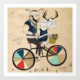 Mr ET Art Print