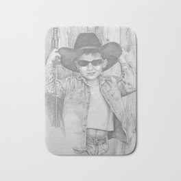 Howdy Pardner Bath Mat