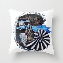 SEA SPIRIT Throw Pillow