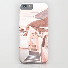 Santorini Greece iPhone Case