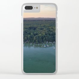 Cottage Grove Clear iPhone Case