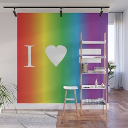 I heart Equality Wall Mural
