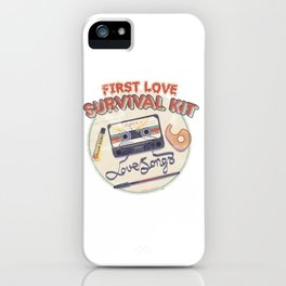 First Love Survival Kit iPhone Case