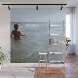 THE PAST IS BEHIND YOU - FONT PIECE Wall Mural