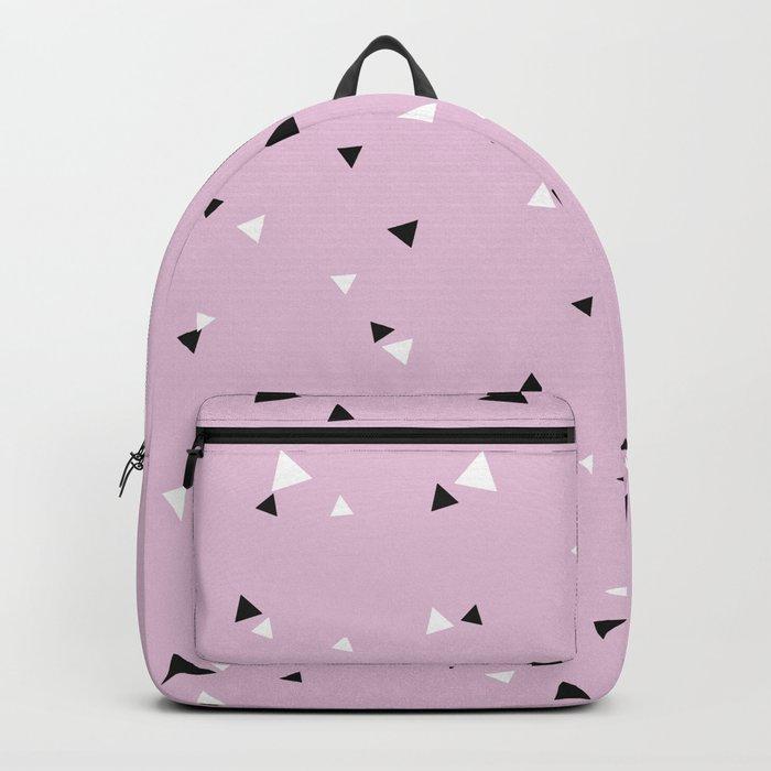 Little Triangle Geometry Backpack
