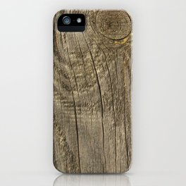 Texture #1 Wood iPhone Case