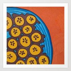 fried plantains Art Print