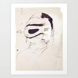 Rey Awakened Art Print
