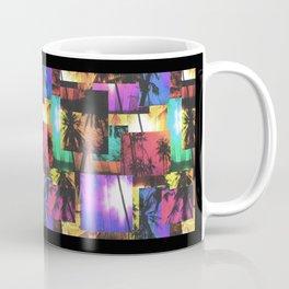 Tree Patterns with Sunset Coffee Mug