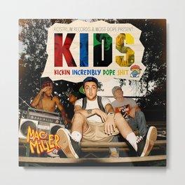 Mac Miller kids Music Cover Album Canvas Poster-unframe Metal Print