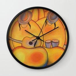 Jellybean Duo Wall Clock