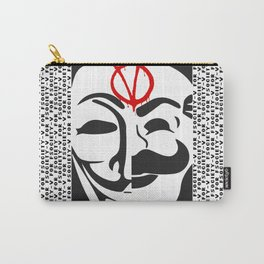 V for Fsociety Carry-All Pouch