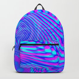 GLITCH MOTION WATERCOLOR OIL Backpack
