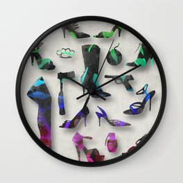 Female Trouble Wall Clock