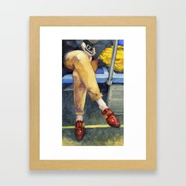 Commuters Two Framed Art Print