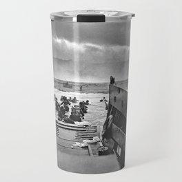 Omaha Beach Landing D Day Travel Mug