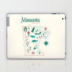 Minnesota State Love Laptop & iPad Skin