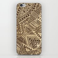tribal iPhone & iPod Skins featuring Tribal  by Terry Fan