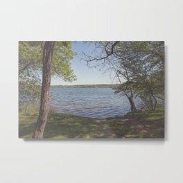 Inks Lake View Metal Print