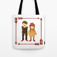 thanksgiving Tote Bags featuring Thanksgiving Happiness by Elena Kouvaros